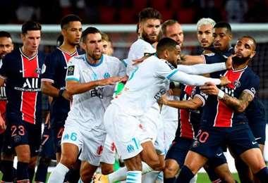 Marsella apunta a Neymar como provocador de los incidentes