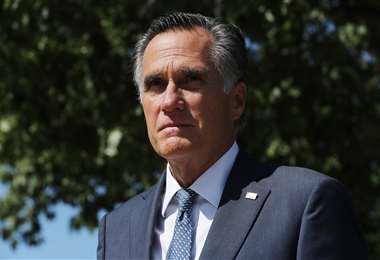 El senador republicano Mitt Romney. Foto AFP