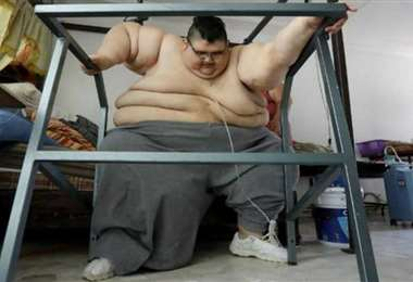 Juan Pedro Franco actualmente pesa 208 kilos (Foto: Internet)