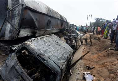 El accidente ocurrió en la localidad Lokoja (Foto: AFP)