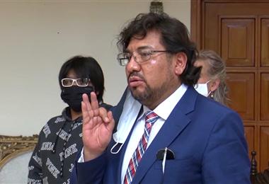 El procurador General, Alberto Morales.