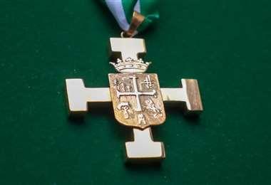 La condecoración Dr. Andrés Ibáñez en el grado de la Gran Cruz Potenzada