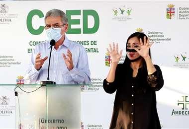 Luis Alberto Alpire, secretario de Desarrollo Productivo de la Gobernación