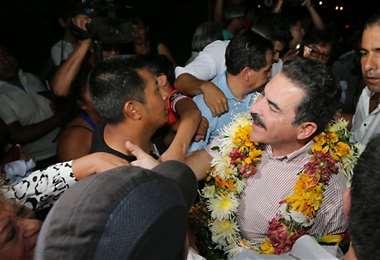 La exautoridad vuelve al país para hacer política /Foto: Opinión