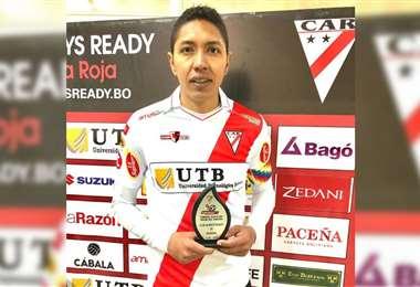 Samuel Galindo, mediocampista de Always Ready. Foto: Prensa Always Ready