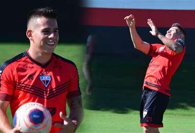Henry Vaca, volante cruceño que juega en Atlético Goianense. Foto: internet