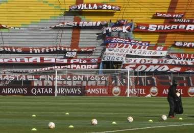 El Félix Capriles será otra vez escenario de un partido por la Libertadores. Foto: AFP