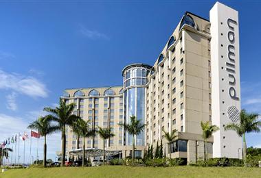 Pullman de Guarulhos, el hotel donde se hospedará Bolivia