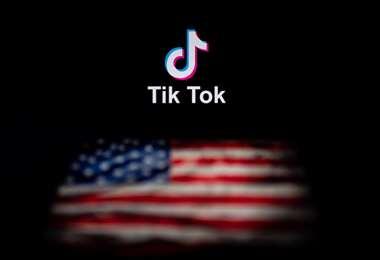 El futuro de TikTok se mantiene en suspenso. Foto AFP