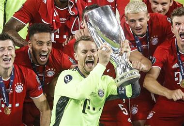 Bayern Múnich sumó su segunda Supercopa