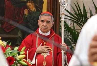 El cardenal Angelo Becciu. Foto Internet