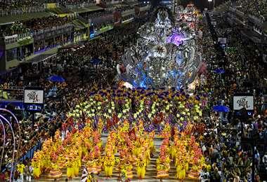 Río suspende sus desfiles del Carnaval de 2021. Foto AFP