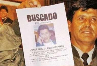 Clavijo desapareció por varias semanas, después de la muerte de la periodista.