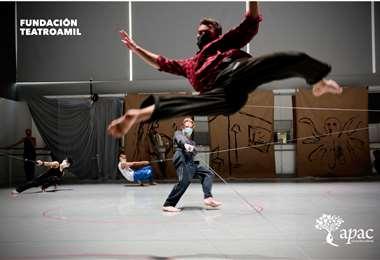 La compañía de danza más antigua del Reino Unido da forma a un nuevo espectáculo
