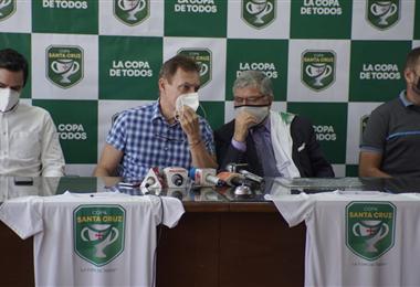 La Copa Santa Cruz se lanzó en el edificio de la FBF