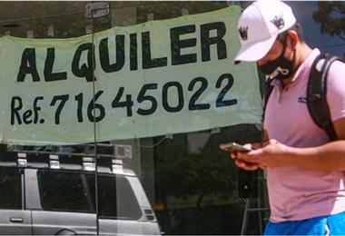 La ley de alquileres aún no está en vigencia. Foto: Jorge Uechi