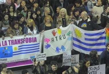 Marcha por la Diversidad en Montevideo. Foto Internet