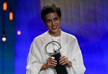 Dea Kulumbegashvili es la tercera mujer en llevarse la Concha de Oro