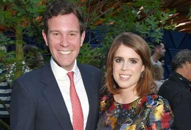 Jack Borrksbank y la princesa Eugenia anunciaron que esperan a su primer hijo