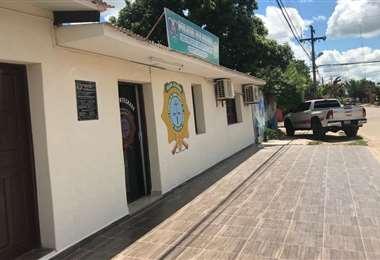 Policía en Montero