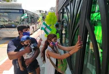Vecinos podrán viajar gratis durante el periodo de prueba. Foto: Hernán Virgo