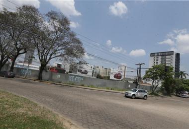 En este predio levantará el proyecto inmobiliario /Foto: Fuad Landívar