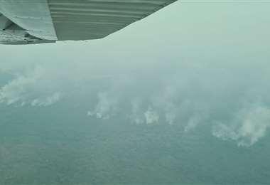 Foto referencial, reserva de Copaibo afectada en los últimos días