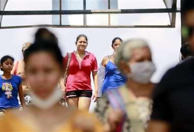 Hay más casos contagiados en Bolivia. Foto: EL DEBER