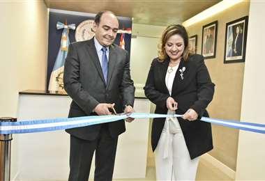 La embajada fue abierta a fines del año pasado. Foto Internet