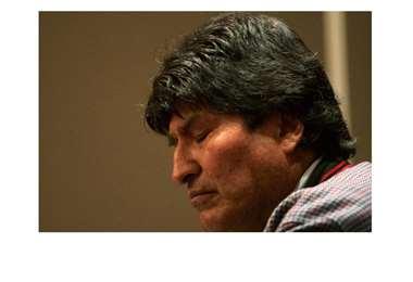 Evo Morales no podrá ser candidato a senador