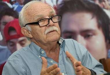 Marco Peredo, ex presidente de la FBF. Foto: Fuad Landívar