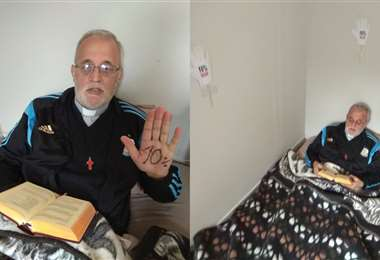 Actualmente, el Padre Mateo está en Lima, Perú