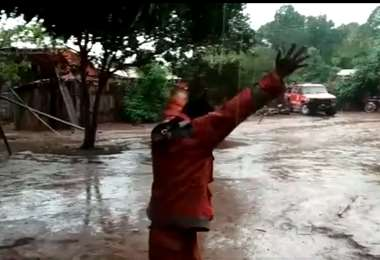 Desde FunSar indicaron que llovió en Concepción