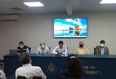 Mesas de trabajo de la Agenda de Reactivación de Hidrocarburos en Santa Cruz