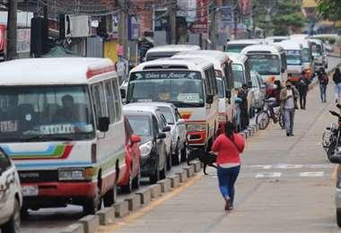 Trabajan a medias en la ciudad, según los dirigentes. Foto: Jorge Gutiérrez
