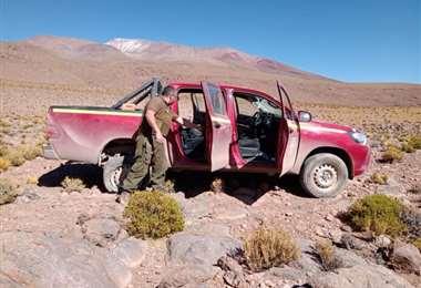 Uno de los motorizados recuperados I Soy Chile.