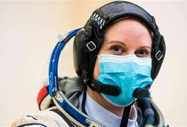 Kate Rubins votará desde la Estación Espacial Internacional. Foto Internet