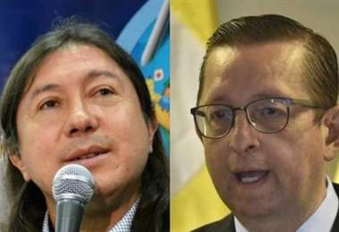 Marcel Rivas y Óscar Ortiz I EL DEBER.