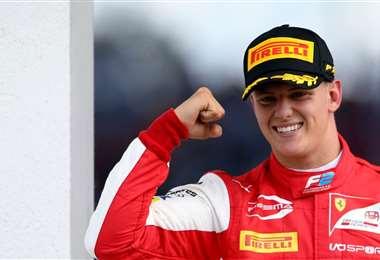 Mick Schumacher es hijo del legendario campeón alemán. Foto: Internet