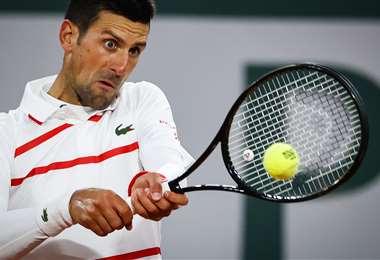 Novak Djokovic es candidato a ganar el título de Ronald Garros. Foto: AFP