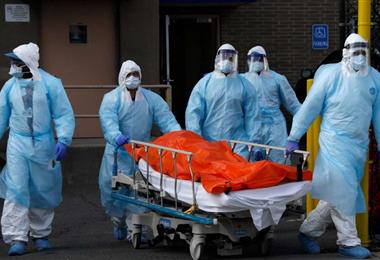 Entre Estados Unidos y Canadá suman cerca de 200.000 fallecidos. Foto. Internet