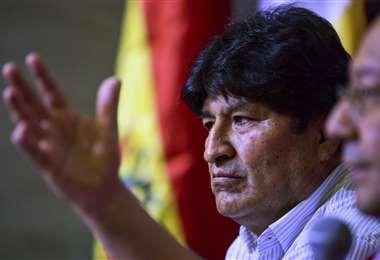 Evo no vive en Bolivia desde 2019