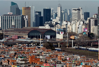 La pobreza en aumento en Argentina. Foto Internet