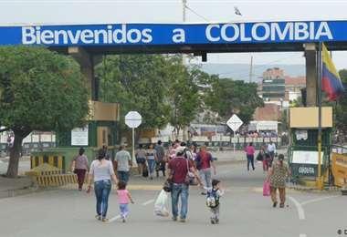 Las fronteras de Colombia solo se abren por cuestiones humanitarias. Foto Internet