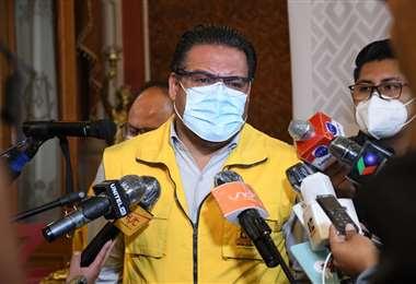 El líder de Sol.bo, Luis Revilla, alcalde de La Paz.