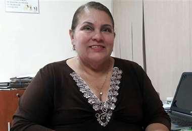 Lily Rocabado, director de la Federación Boliviana de Fútbol. Foto: Archivo