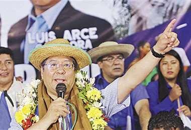Luis Arce Catacora, candidato presidencial del MAS. Archivo