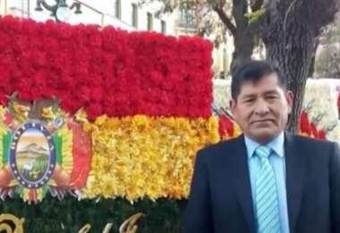 Alfredo Jaimes, vocal de la ciudad de El Alto.