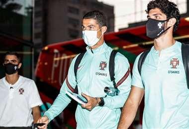 Cristiano trabaja con la selección de Portugal. Foto: @selecaoportugal