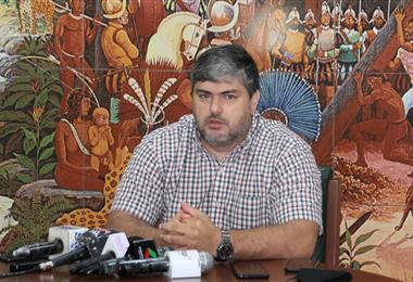 Fernando Larach, presidente del Comité Cívico Provincial de Santa Cruz